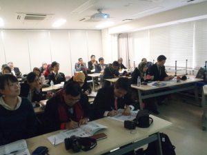 「徳島の地域保健」について学ぶ研修員