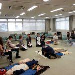 徳島県立海部病院一次救命処置トレーニングコース(平成25年度「指導医養成プログラム事業」)の画像