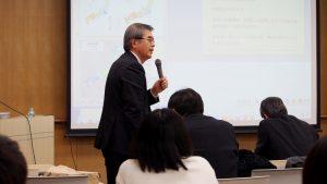 安井センター長から開会の挨拶