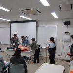 第3回徳島県立海部病院院内急変心肺蘇生トレーニングコース(平成27年度指導医養成プログラム事業)の画像