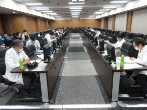 令和2年度 第1回徳島県地域医療支援センター運営会議(専門研修プログラムに関する地域協議会)の画像